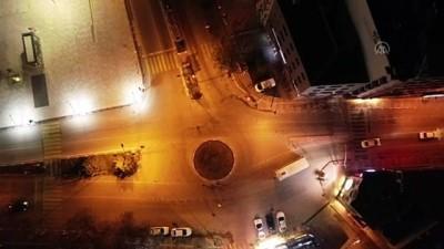 AFYONKARAHİSAR - Sokağa çıkma kısıtlaması