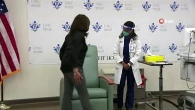 - ABD'nin seçilmiş Başkan Yardımcısı Harris, Covid-19 aşısı oldu