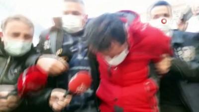 Öğretim görevlisi Aylin Sözer'i boğazından bıçakladıktan sonra yakan Kemal A. adliyeye sevk edildi