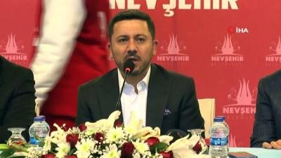 """Nevşehir, """"2021 Avrupa Spor Şehri"""" unvanını kazandı"""