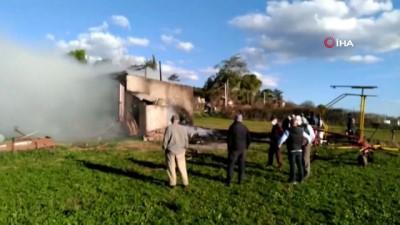 Mustafakemalpaşa'da muhtara ait samanlıkta yangın