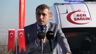 Gaziantep'te 38 yeni ambulans hizmete alındı