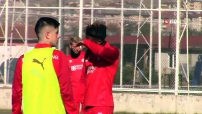 Sivasspor, Denizlispor maçı hazırlıklarına devam etti