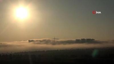 Elazığ'da sis görsel şölen oluşturdu