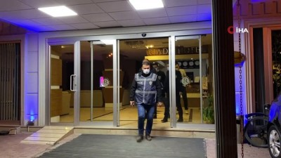 Sakarya'da polis ekiplerinden otel denetimi