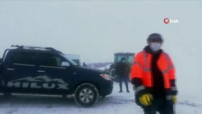 Erzincan'da kar nedeniyle 189 köy yolu ulaşıma kapandı