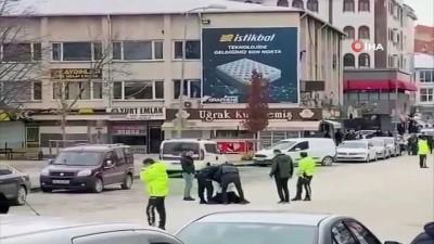 Başkent'te pompalı tüfekle rastgele ateş açan şahıs böyle gözaltına alındı