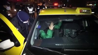 Ticari takside alkol alırken yakalanan genç kadın, 'hastaneye gidiyordum' dedi