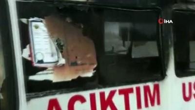 Kokoreç arabası cayır çayır yandı