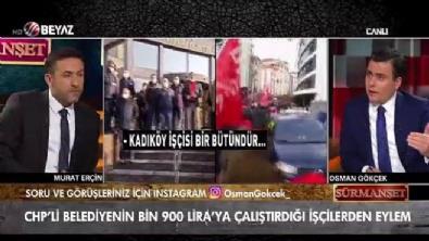 CHP'li belediyede işçi grevi!