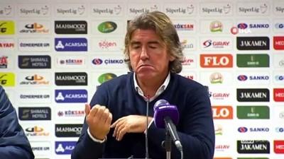 Ricardo Sa Pinto: 'Maçın hakkı beraberlik değildi, iki puan kaybettik'