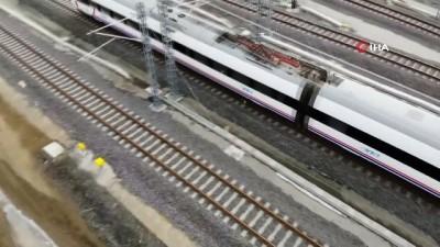 Yüksek Hızlı Tren Yozgat'tan geçti