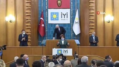 """İYİ Parti Genel Başkanı Akşener: """"Türkiye'nin çözülemeyecek sorunu yok, kimse endişe etmesin"""""""