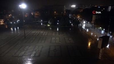 Kırıkkale'de sağanak ve fırtına etkili oldu