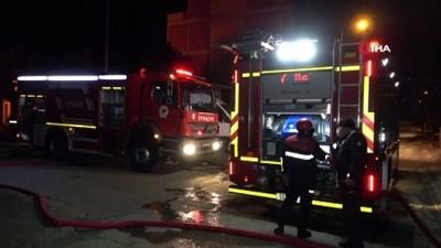 Samsun'da sanayi sitesinde yangın: İş yerleri alev alev yanıyor
