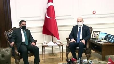 """Bakan Soylu: """"Tarihin hiçbir döneminde bu iki millet birbirinin elini bırakmamıştır"""""""