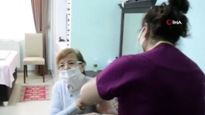 MSB'ye bağlı bakım merkezlerinde korona virüs aşılamaları devam ediyor