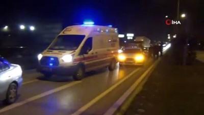 Bursa'daki zincirleme kazada 1'i ambulans 6 araç birbirine girdi