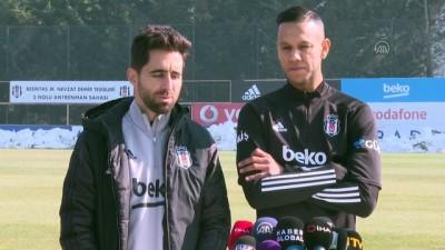 İSTANBUL - Beşiktaşlı futbolcu De Souza, şampiyonluğa inanıyor (1)
