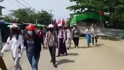 - Myanmar'daki protestolarda 1 kişi daha vurularak hayatını kaybetti
