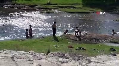 Osmaniye'de su kanalında tehlikeli serinlik
