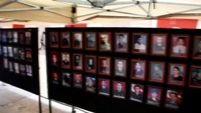 KIRŞEHİR - 'Bayrakla Birleşen Şehitlerimiz' sergisi açıldı