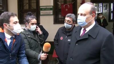 """Bursa Valisi Yakup Canbolat: """"Binalarda bir kayma söz konusu değil. 7 bina boşaltıldı"""""""