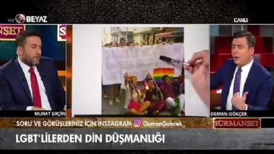 Osman Gökçek'ten LGBT'lilerin din düşmanı eylemlerine tepki!