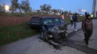 - Gaziantep'te iki araç kafa kafaya çarpıştı: 1 ölü 7 yaralı