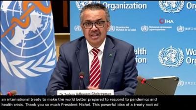 - DSÖ ve AB'den Uluslarası Pandemi Antlaşması için ortak çağrı