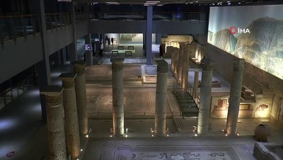 Zeugma Mozaik Müzesi'nde 2021 yılı hedefi 500 bin ziyaretçi
