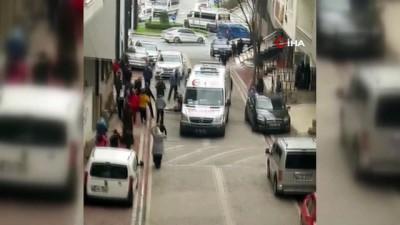 Esenyurt'ta feci olay.. 4'üncü kattan düşen adam hayatını kaybetti