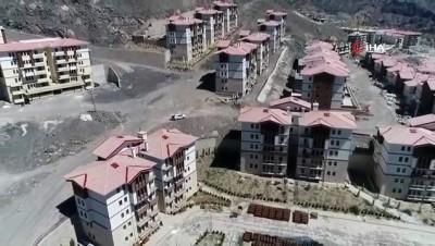 Yusufeli Barajı'nın son hali böyle görüntülendi
