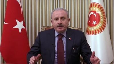 TBMM Başkanı Mustafa Şentop, Kızılay'ın Teşekkür ve Dayanışma Programı'na mesaj gönderdi
