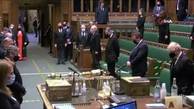 - İngiltere parlamentosunda Prens Philip anısına saygı duruşu