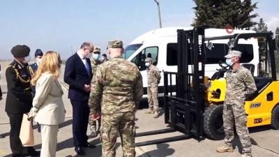 - Türkiye, Gürcistan'a askeri havaalanı için araç ve teçhizat hibe etti