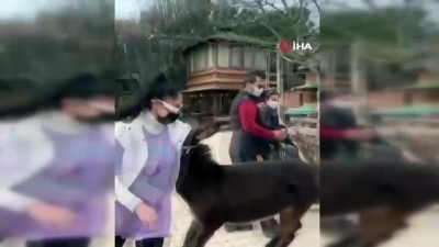 Katıldığı moda yarışmasıyla tanınan Zeynep Öztürk'ün sıpayla imtihanı