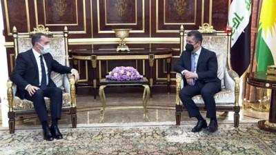 - Bağdat Büyükelçisi Yıldız, IKBY Başbakanı Barzani ile görüştü
