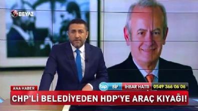CHP'li Belediyeden HDP'ye araç kıyağı!