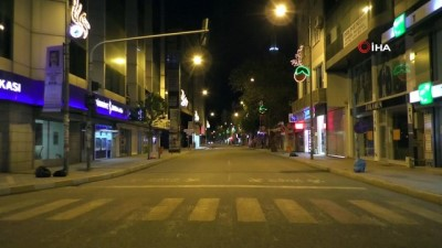 Iğdır'da 82 saatlik sokağa çıkma kısıtlaması başladı