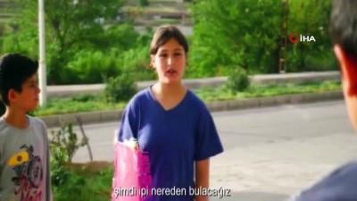 Derik'te 23 Nisan çocuklarla birlikte çekilen kısa film ile kutlandı
