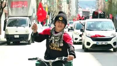 Eskişehir'de 23 Nisan konvoyu düzenlendi