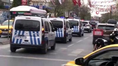 Bakırköy polisinden 23 Nisan Ulusal Egemenlik ve Çocuk Bayramı konvoyu