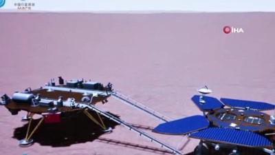 - Çin'in Mars keşif aracı Zhurong, Kızıl Gezegen'e ilk ayak izini bıraktı