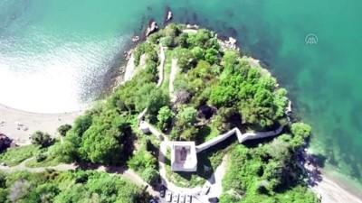DÜZCE - 'Karadeniz ticaretinin bekçisi' Ceneviz Kalesi ziyaretçilerini ağırlamaya başladı