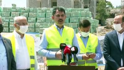 İZMİR - Bakan Kurum: 'Bizim amacımız İzmir'de dönüşüm sürecini bir an önce yapmaktır'