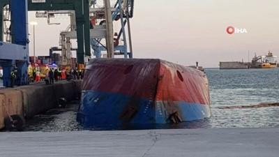 - İspanya'da Türk gemisi battı: Kayıp 2 kişi aranıyor