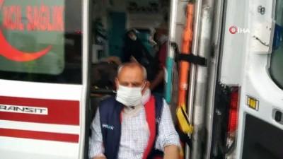 TEM Otoyolunda 2 yolcu otobüsü çarpıştı çok sayıda yaralı var