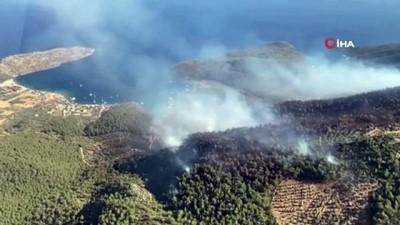 Muğla'daki yangın 10 saat sonra kontrol altına alındı