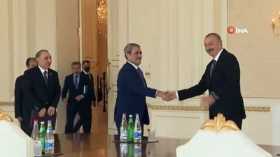 - Yargıtay Cumhuriyet Başsavcısı Şahin, Azerbaycan Cumhurbaşkanı Aliyev tarafından kabul edildi